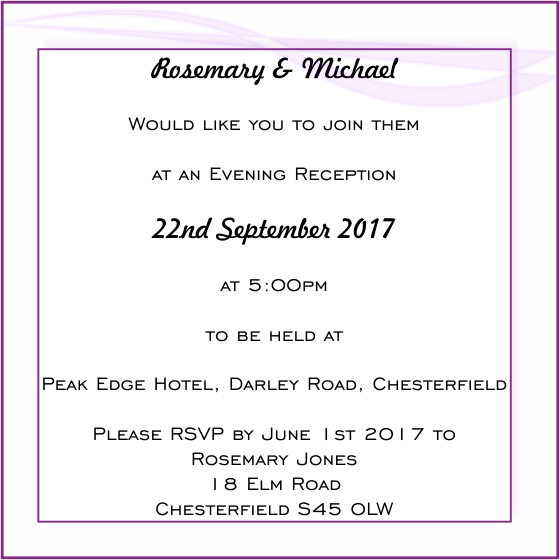 Wedding Dance Only Invitation Wording: Wedding Evening Invitation Wording